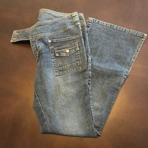 Lee Boot Cut Bottom Jeans
